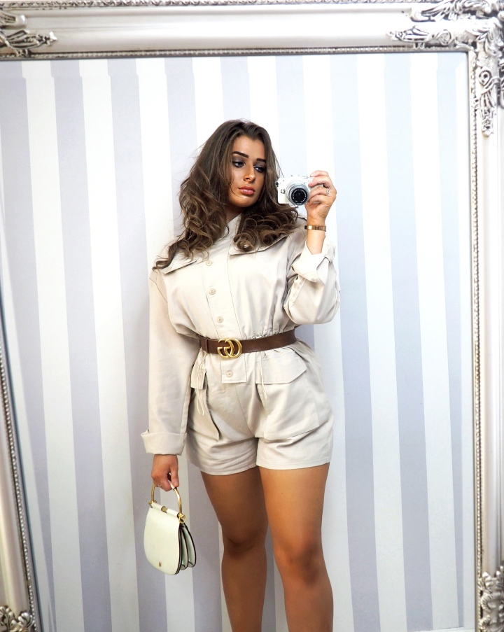 MILITARY STYLE PLAYSUIT