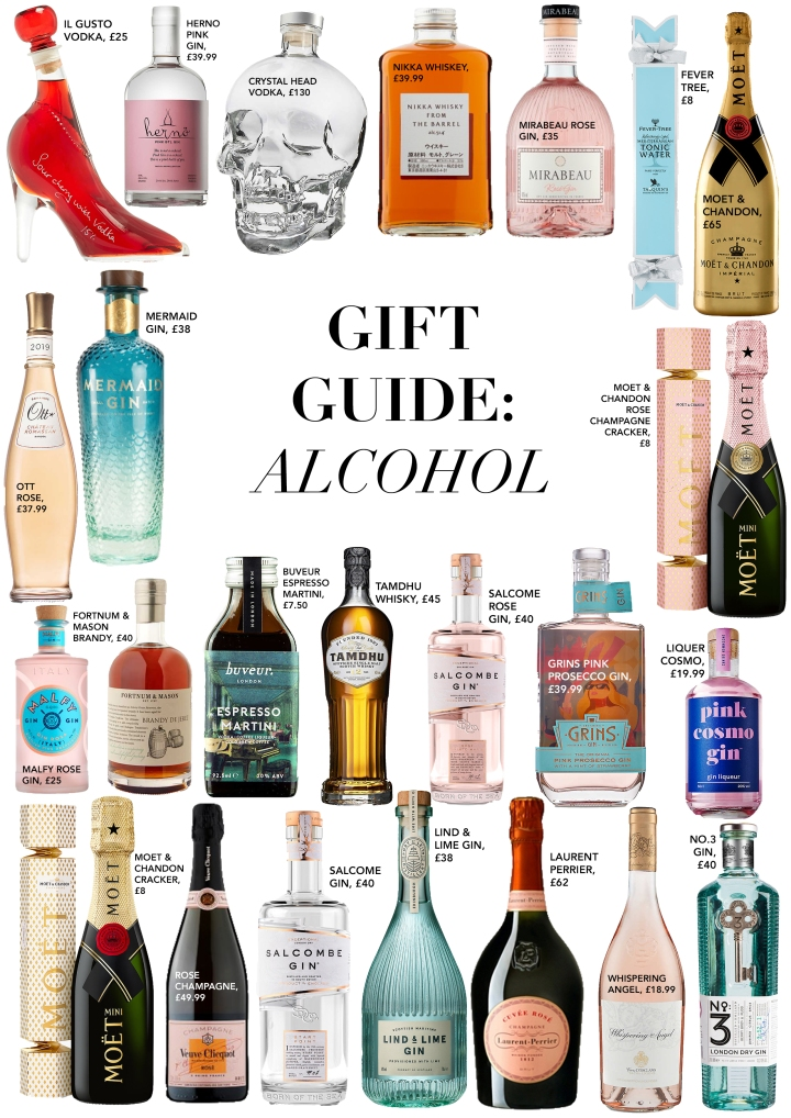 GIFT GUIDE: ALCOHOL