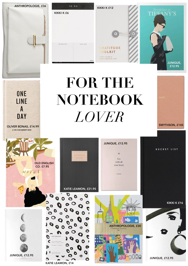FOR THE NOTEBOOK LOVER