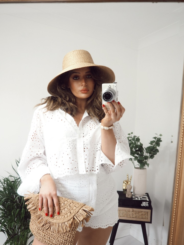 BRODERIE TWO-PIECE